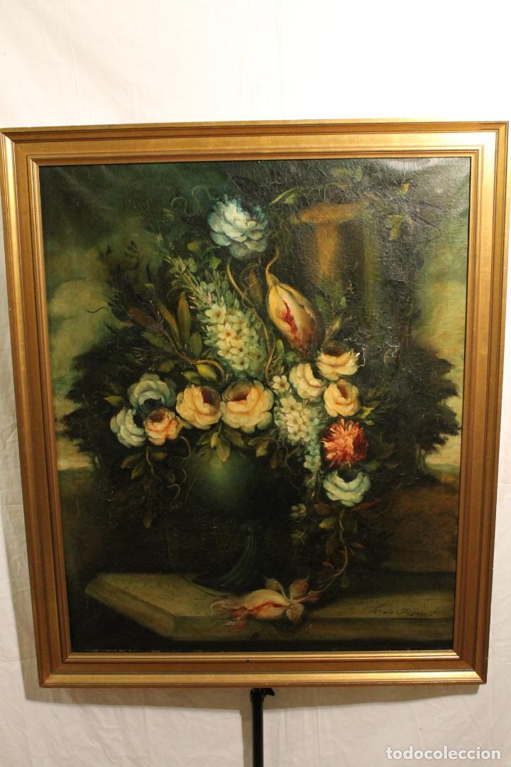 BODEGÓN DE FLORES (Arte - Pintura - Pintura al Óleo Moderna sin fecha definida)