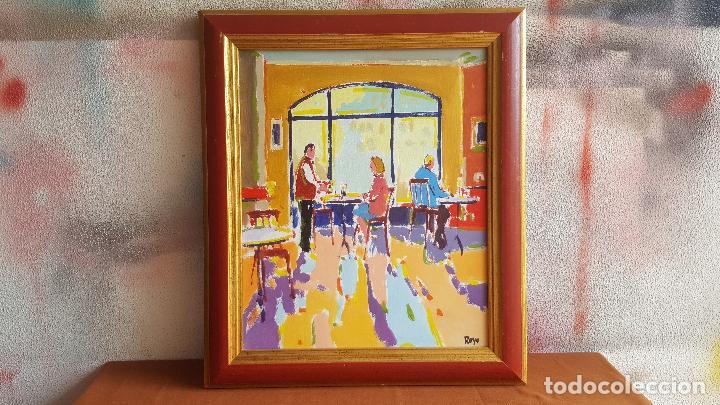 Arte: Óleo sobre lienzo de Royo. Manuel Doblas Pinto. Cuadro contemporáneo. - Foto 2 - 141499202