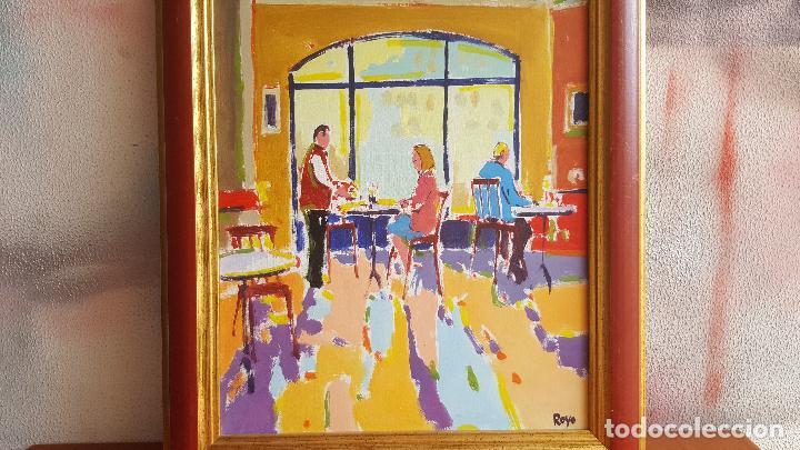 Arte: Óleo sobre lienzo de Royo. Manuel Doblas Pinto. Cuadro contemporáneo. - Foto 3 - 141499202