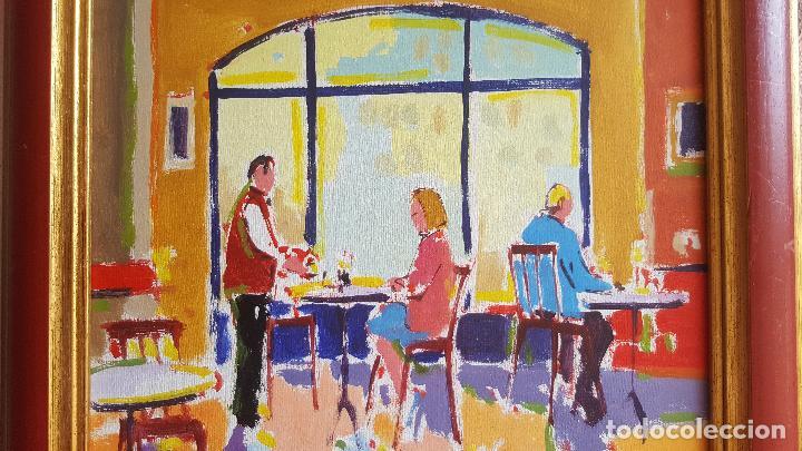 Arte: Óleo sobre lienzo de Royo. Manuel Doblas Pinto. Cuadro contemporáneo. - Foto 4 - 141499202