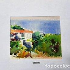 Arte: PINTURA ACUARELA LLANÇA DE JOSEP MARFA GUARRO - BARCELONA - - Nº1 A -. Lote 141520326
