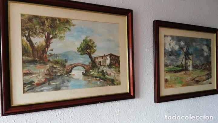 Arte: Pareja de cuadros de paisajes - Foto 2 - 141547866
