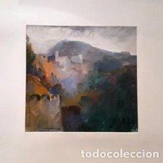 Arte: PINTURA ACUARELA CUENCA DE JOSEP MARFA GUARRO - BARCELONA - Nº1 C -. Lote 141625018