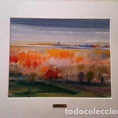 Arte: PINTURA ACUARELA - PAISATGE ALT AMPURDA DE JOSEP MARFA GUARRO - BARCELONA - Nº1 C -. Lote 141628294