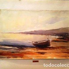Arte: PINTURA ACUARELA - COLERA DE JOSEP MARFA GUARRO - BARCELONA - Nº1 C -. Lote 141635038