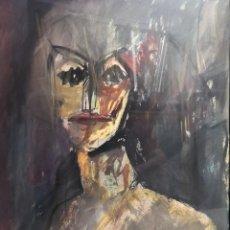 Arte: PETEIRO VÁZQUEZ, JORGE (A CORUÑA, 1959 – SADA, 2013) DAMA. TÉCNICA MIXTA SOBRE PAPEL. Lote 141640278