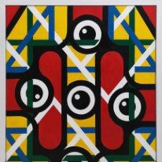 Arte: FONTAIÑA, MANUEL (RIBEIRA, 1961) COMPOSICIÓN. ACRÍLICO SOBRE LIENZO. Lote 141641974