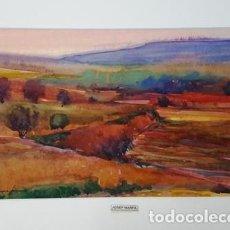 Arte: PINTURA ACUARELA - PAISATGE - DE JOSEP MARFA GUARRO - BARCELONA - Nº1 C -. Lote 141667574