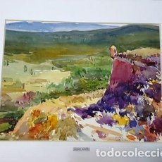 Arte: PINTURA ACUARELA - DE JOSEP MARFA GUARRO - BARCELONA - Nº1 C -. Lote 141668718