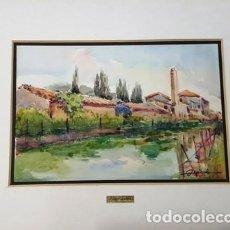 Arte: PINTURA ACUARELA - DE JOSEP MARFA GUARRO - BARCELONA - Nº1 C -. Lote 141668886