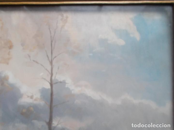 Arte: MAURICI VALLS QUER (VALLSQUER). CELAJE, ÓLEO SOBRE TABLA. FIRMADO Y FECHADO EN OLOT EN 1936. - Foto 5 - 141705402
