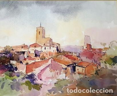Arte: PINTURA ACUARELA - SANT PERE DE RIBES - BCN - DE JOSEP MARFA GUARRO - BARCELONA - Nº1 C - - Foto 2 - 141738278