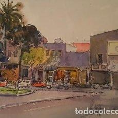 Arte: PINTURA ACUARELA - HOSPITALET - BCN - DE JOSEP MARFA GUARRO - BARCELONA - Nº1 C -. Lote 141738434
