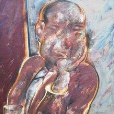 Arte: SUCASAS, ALFONSO. (LALÍN, 1940 - VILA DE CRUCES, 2012) GIN TONIC. ACRÍLICO SOBRE LIENZO.. Lote 141761162