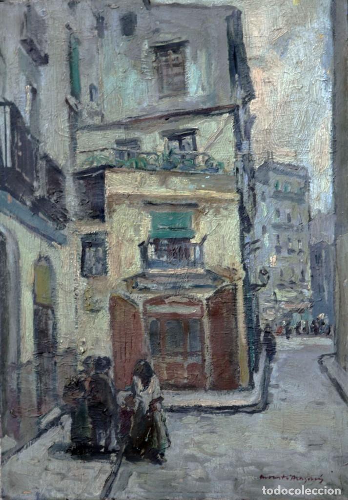 MORATÓ ARAGONÉS, ÓLEO SOBRE TELA 46X33 CM (Arte - Pintura - Pintura al Óleo Contemporánea )