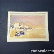 Arte: PINTURA - ACUARELA - DE JOSEP MARFA GUARRO - BARCELONA - Nº1 C -. Lote 141812130