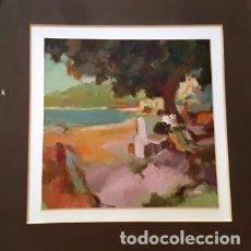 Arte: PINTURA - ACUARELA - DE JOSEP MARFA GUARRO - BARCELONA - Nº1 C -. Lote 141812690