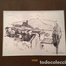 Arte: PINTURA - DUBUJO A TINTA - DE JOSEP MARFA GUARRO - BARCELONA - Nº1 C -. Lote 141813050