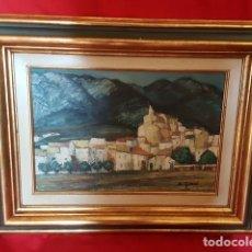 Arte: PAISAJE. PINTURA AL ÓLEO. FIRMADO Y ENMARCADO. . Lote 141877030