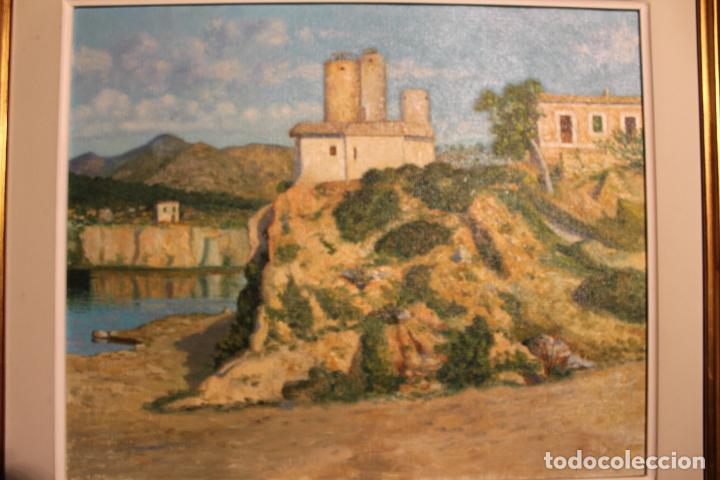 Arte: OLEO SOBRE LIENZO ESCUELA MALLORQUINA MOLINOS - Foto 2 - 141899770