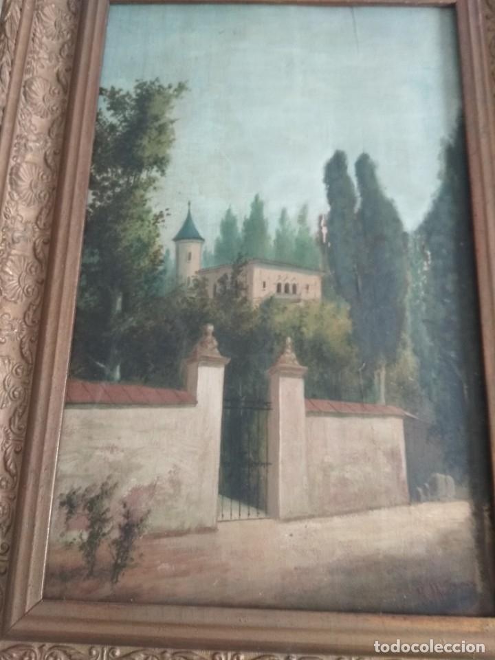 Arte: es una bonita pintura antigua - Foto 5 - 48936051