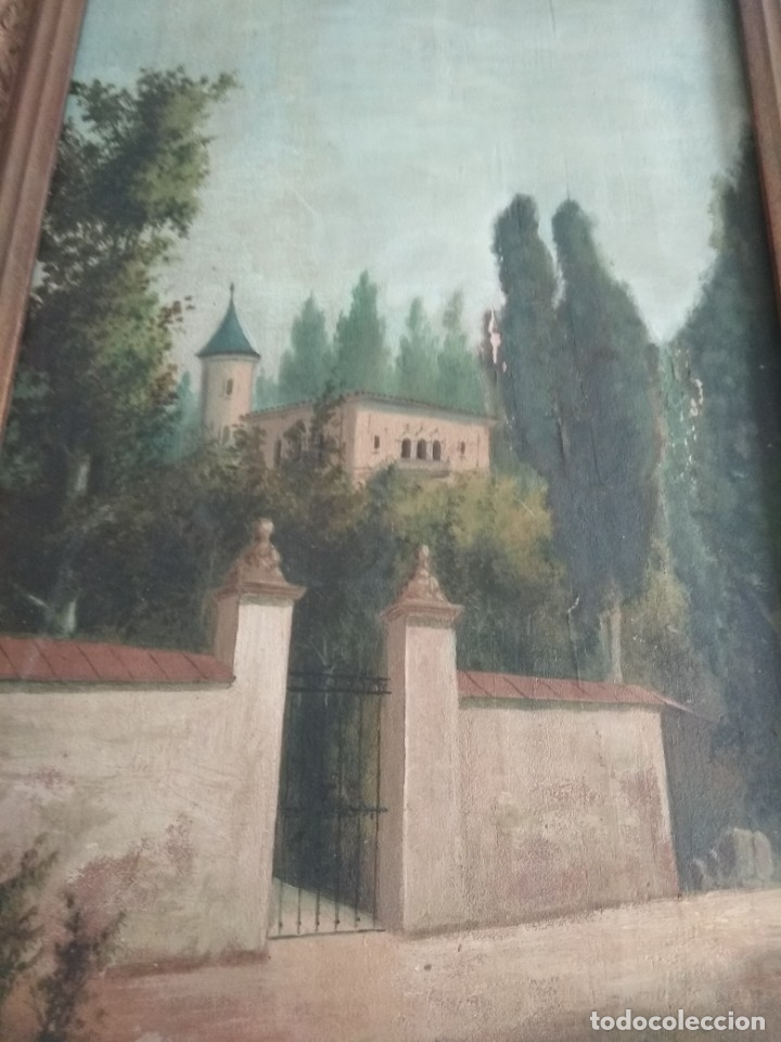 Arte: es una bonita pintura antigua - Foto 6 - 48936051