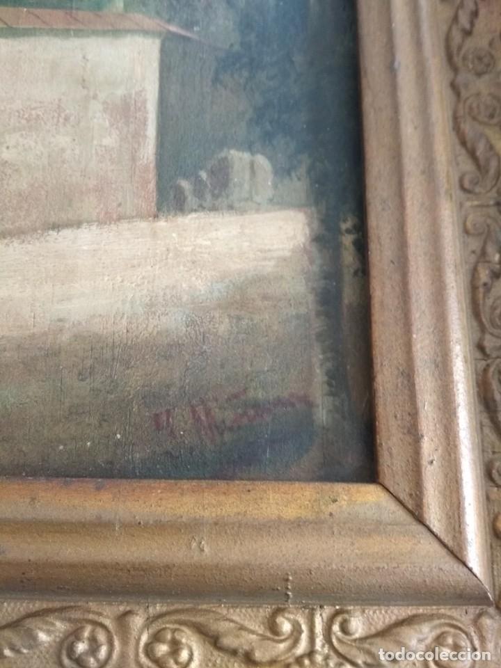 Arte: es una bonita pintura antigua - Foto 8 - 48936051
