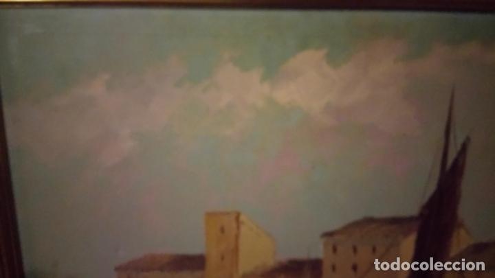 Arte: Pintura al oleo de marina española de g.karolyi . cuadro - Foto 8 - 142065914