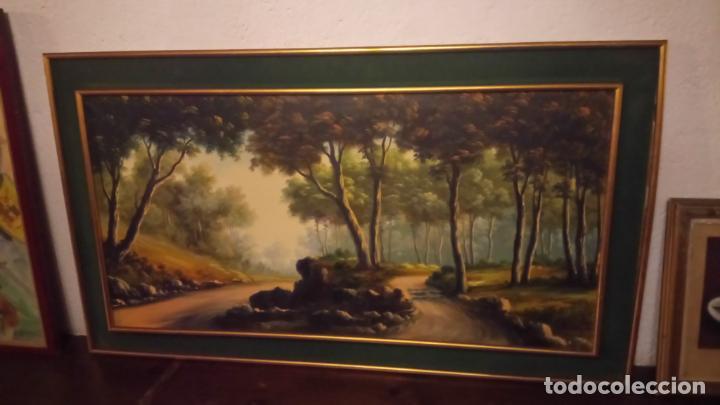 Arte: Pintura al oleo de bosque español de d.pastor . cuadro grande de sala de estar o comedor - Foto 21 - 142066518