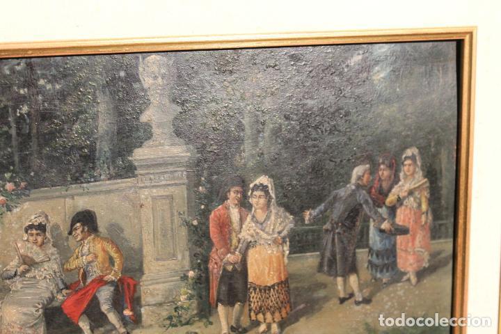 Arte: OLEO SOBRE TABLA - Foto 3 - 142176450