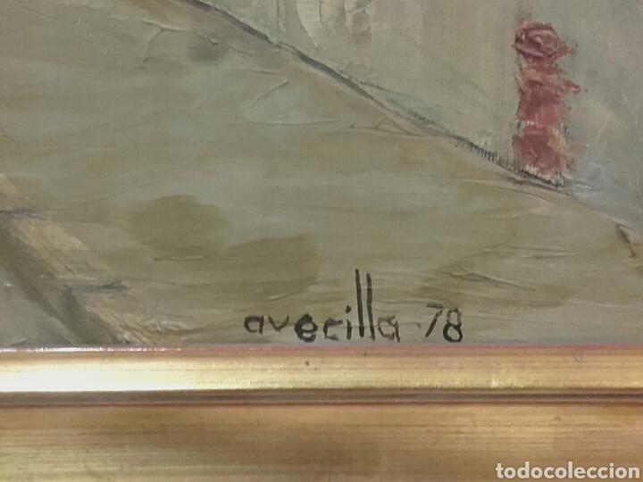 Arte: CALLE DEL POZO (SAN NICOLÁS), VALLADOLID. PINTURA ÓLEO/LIENZO. AUTOR: MELCHOR AVECILLA ESPINOSA. - Foto 4 - 142192762