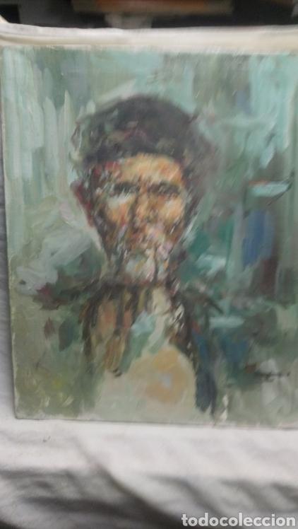 GRAN RETRATO (HOMBRE CON CIGARRO) (Arte - Pintura - Pintura al Óleo Contemporánea )