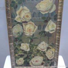 Arte: ÓLEO SOBRE TABLEX ILEGIBLE1964.ROSSAS DE TARDO.BUEN TRAZO.. Lote 142223282