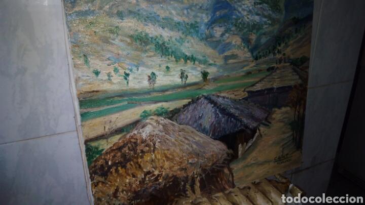 Arte: Oleo sobre lienzo 65 x 54 cm , firmado - Foto 2 - 142327264