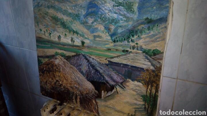 Arte: Oleo sobre lienzo 65 x 54 cm , firmado - Foto 3 - 142327264