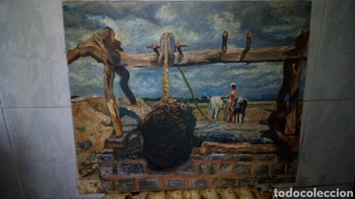 OLEO SOBRE LIENZO 65 X 54 CM ,FIRMADO (Arte - Pintura - Pintura al Óleo Moderna sin fecha definida)