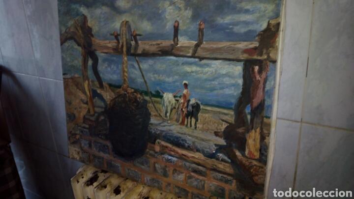 Arte: Oleo sobre lienzo 65 x 54 cm ,Firmado - Foto 3 - 142327681