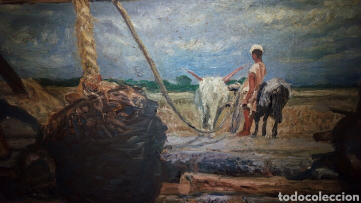 Arte: Oleo sobre lienzo 65 x 54 cm ,Firmado - Foto 5 - 142327681