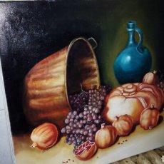 Arte: OLEO SOBRE LIENZO ,65 X 54 , FIRMADO. Lote 142327953