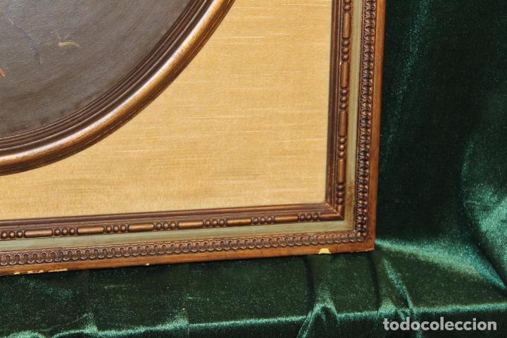 Arte: oleo sobre tablex florero oval - Foto 6 - 142381890