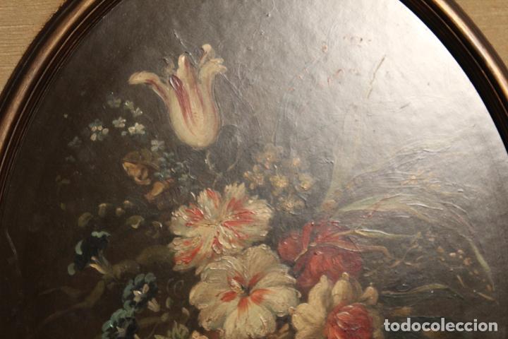Arte: oleo sobre tablex florero oval - Foto 7 - 142381890