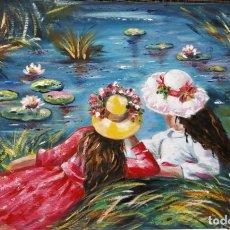 Arte: MIRANDO NENUFARES. Lote 142427418