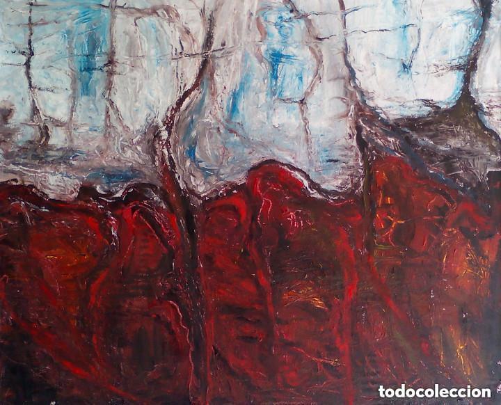 PINTURA SOBRE TELA ORIGINAL FIRMADA (Arte - Pintura - Pintura al Óleo Contemporánea )