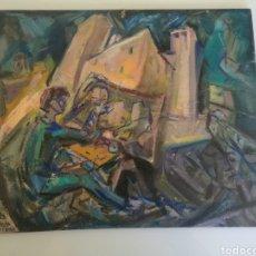 Arte: ANGEL GARCIA RUEDA - OLEO SOBRE TABLEX - 1995. Lote 142508574