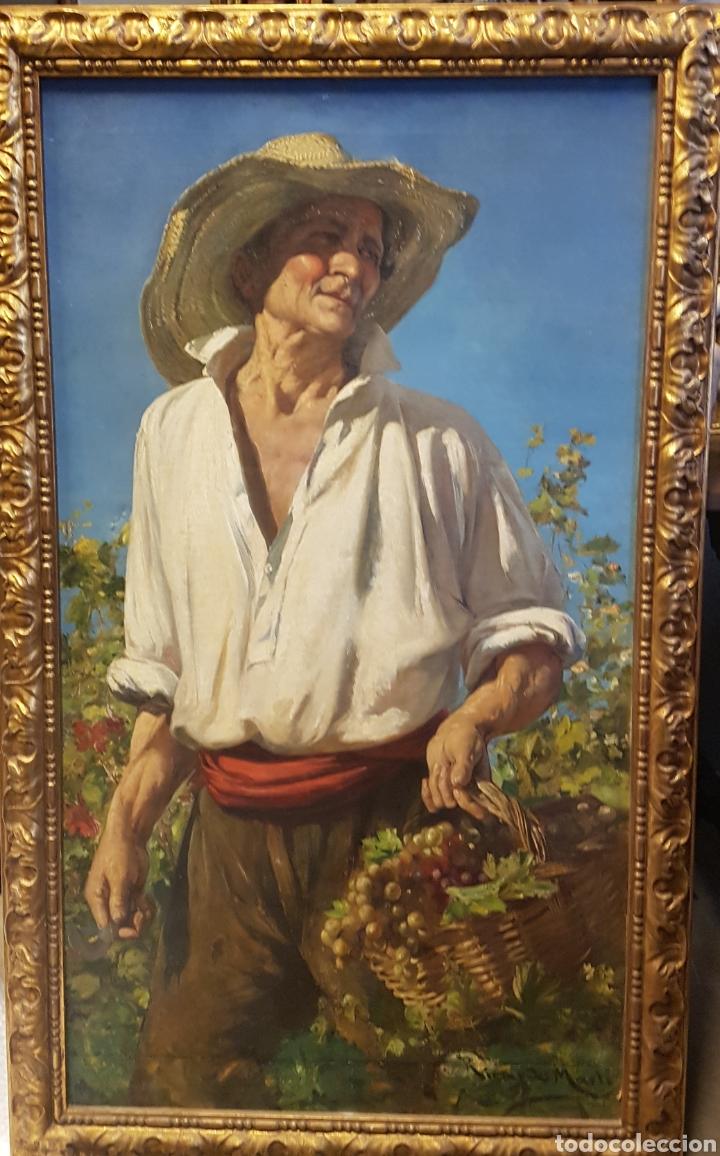 RICARDO MARTÍ LA VENDIMIA (Arte - Pintura - Pintura al Óleo Moderna siglo XIX)