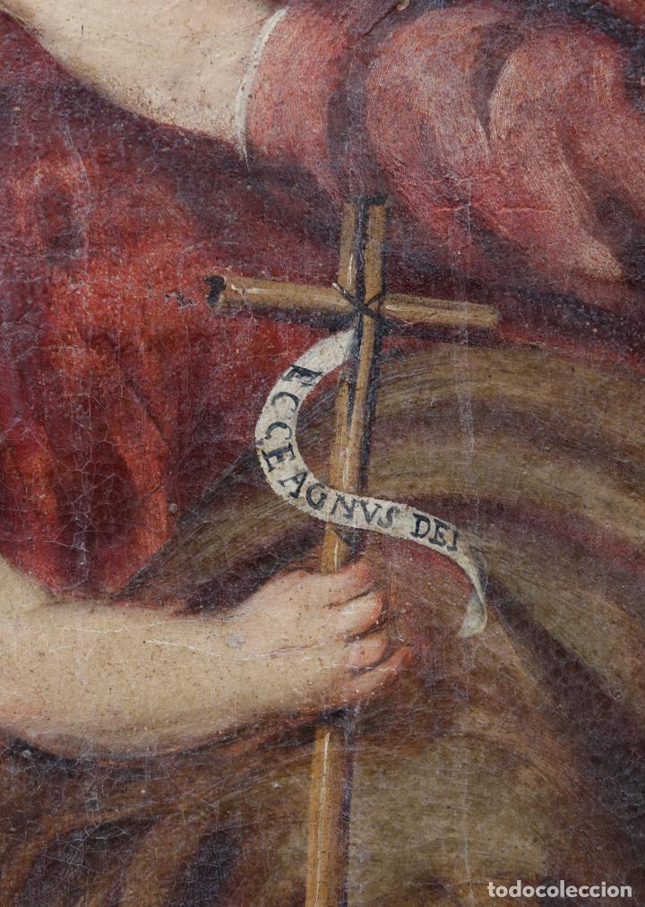 Arte: Las dos trinidades, Escuela española s.XVII. Óleo sobre lienzo 170x135 cm. - Foto 4 - 142536954