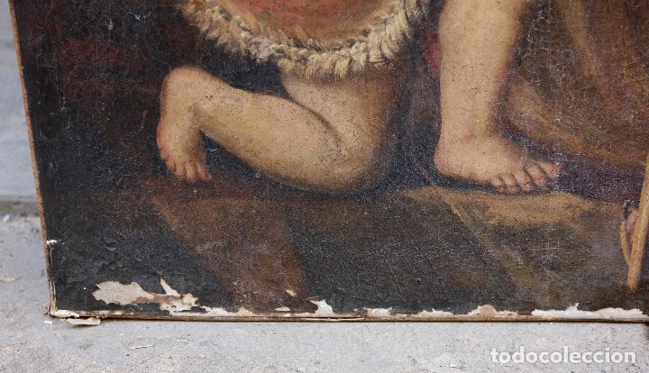 Arte: Las dos trinidades, Escuela española s.XVII. Óleo sobre lienzo 170x135 cm. - Foto 9 - 142536954