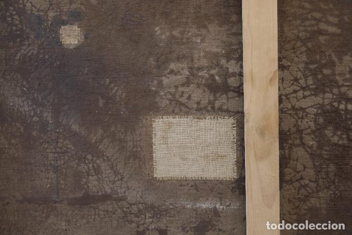 Arte: Las dos trinidades, Escuela española s.XVII. Óleo sobre lienzo 170x135 cm. - Foto 12 - 142536954
