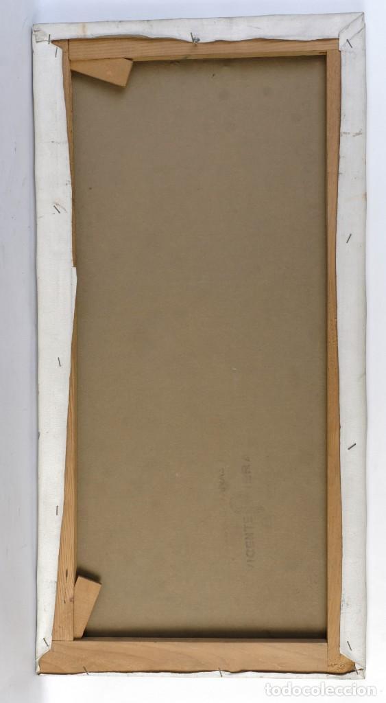 Arte: Isabel Serrahima Óleo sobre lienzo Vista ventana Firmado y fechado 1980 - Foto 3 - 142607278