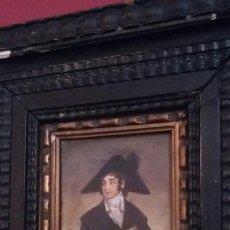 Arte: PAREJA DE COBRES DEL SIGLO XVIII CON MARCOS FLAMENCOS. Lote 142687418